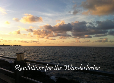 Resolutions for the Wanderluster