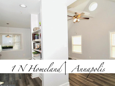 1 N Homeland, Annapolis, MD - $465,000