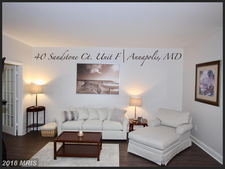 Annapolis Overlook Charmer - 40 Sandstone Ct, Unit F, Annapolis, MD - $216,500