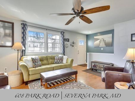 Carrollton Manor Rancher - 608 Park Rd, Severna Park, MD - $399,900