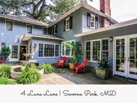 Round Bay Craftsman - 4 Luna Lane, Severna Park, MD - $785,000