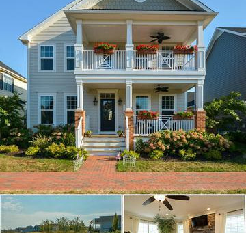 Southern-Style Living on the Eastern Shore 128 Evelyne Street - Chester, MD - $599,900