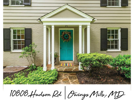 Caves Valley Colonial  - 10808 Hudson Rd, Owings Mills, MD - $738,000