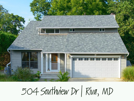Winter Waterviews in Riva - 504 Southview Dr, Riva, MD - $550,000