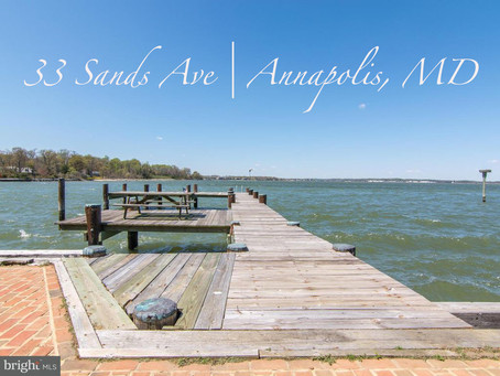 Waterfront Oasis - 33 Sands Ave, Annapolis, MD - $1,875,000