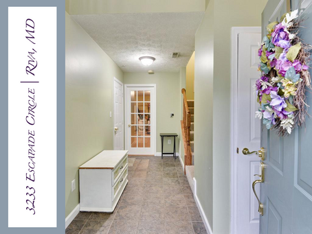 Waterford Community Townhome - 3233 Escapade Circle, Riva, MD - $375,000