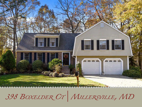 Charming Colonial in Shipley's Choice  - 398 Boxelder Ct, Millersville, MD - $585,000