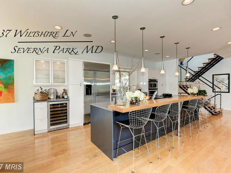 Contemporary Waterfront Home on Cypress Creek- 237 Wiltshire Ln, Severna Park, MD - $1,450,000
