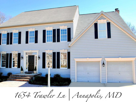 St. Margaret's Landing Colonial - 1654 Trawler Ln, Annapolis, MD - $639,900
