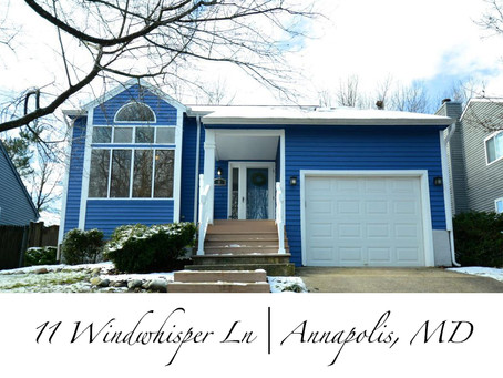 Cool Blue Contemporary  - 11 Windwhisper Ln, Annapolis, MD - $499,900