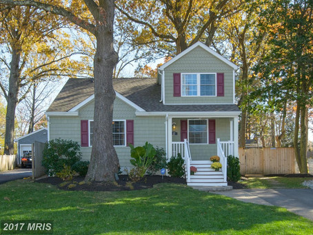 Pottery-barn Style Craftsman Home - 37 Boxwood Road Annapolis, MD - $375,000