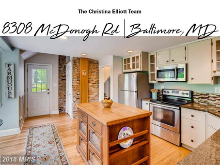 Rustic Charm & Modern Finishes - 8308 McDonogh Rd, Baltimore, MD - $459,900