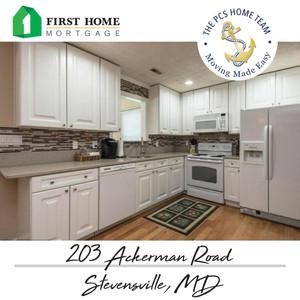 203 Ackerman Rd, Stevensville, MD - $359,900