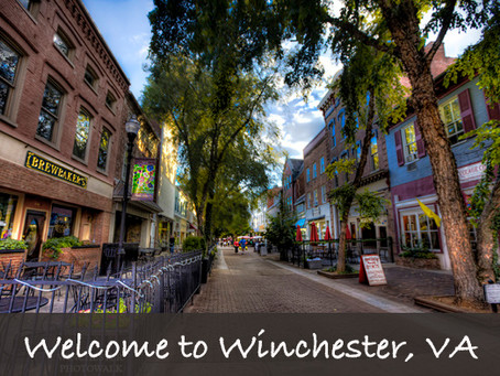 Winchester, VA - Welcome to Our Town!