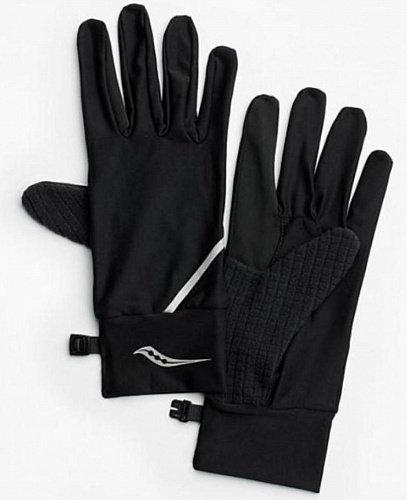 Чёрные перчатки Saucony Fortify Liner Gloves