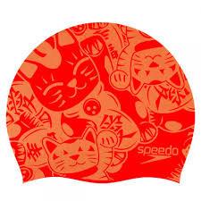 Шапочка для плавания Speedo Junior Slogan Cap