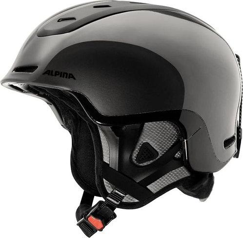Шлем  г/л Alpina Позвоночника-серый/черный