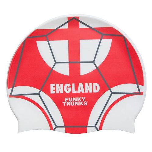 Funky Trunks ENGLAND CAP Шапочка для плавания с флагом