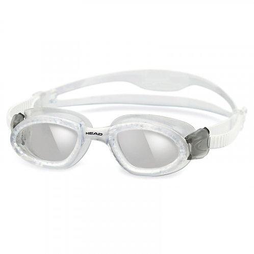 Очки для плавания HEAD SuperFlex (прозрачно-дымчатые)