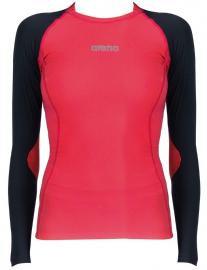 Женская футболка Arena Compression LS Shirt W