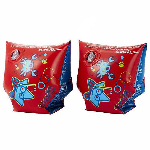Надувные нарукавники Speedo SEA SQUAD ABND JU RED/BLUE