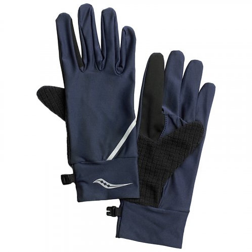 Синие перчатки Saucony Fortify Liner Gloves