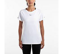 Женская футболка Saucony  UV LITE SHORT SLEEVE