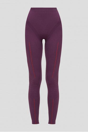 Женские фиолетовые брюки Falke ESS WARM