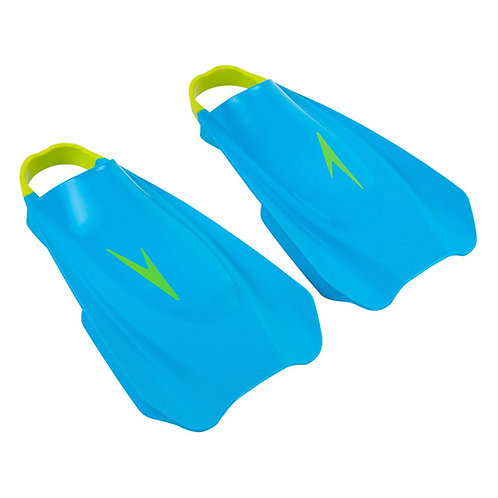 Короткие ласты с открытой пяткой Speedo Fury Training (Blue/Green)