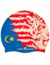 Mad Wave MALAYSIA Шапочка для бассейна