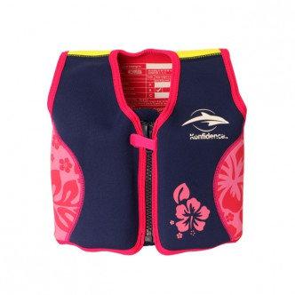 Плавательный жилет Konfidence Original Jacket Navy/Pink