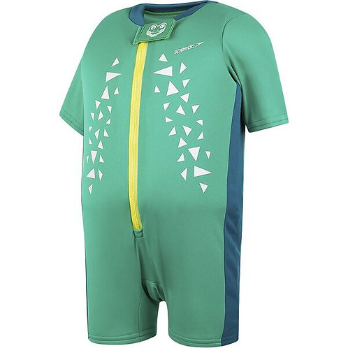 Жилет для плавания Speedo CROC PRINTED FLOAT SUIT IU GREEN/BLUE