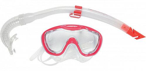 Детский набор: маска+трубка Speedo Glide Junior Snorkle Set