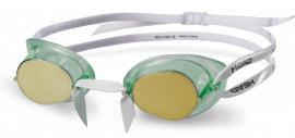 Очки для плавания Head Racer TPR+ зеркальное покрытие