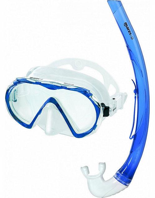 Набор для плавания Mares Mistral маска+трубка
