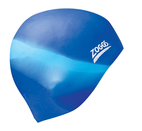 Шапочка для плавания ZOGGS Silicone Cap Multi Colour Blue/L.Blue