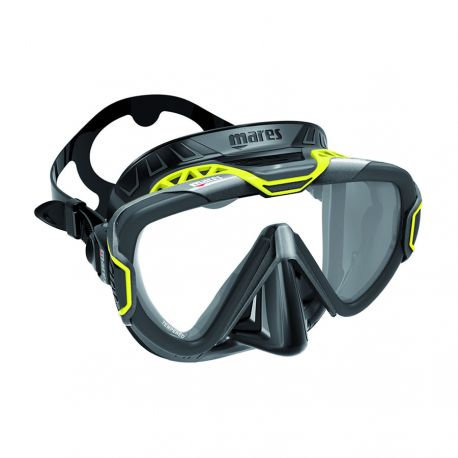Маска  Mares Pure Wire Mask Yellow /BLack