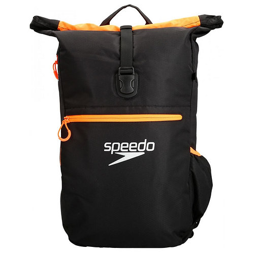 Рюкзак Speedo TEAM RSCK III AU BLACK/ORANGE