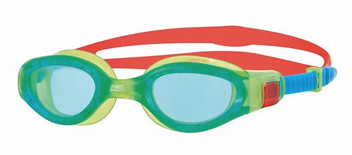 Очки для плавания  ZOGGS Phantom Elite Jnr Blue/T.Blue&T.Grn