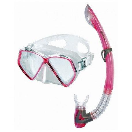 Детский набор Mares Pirate 14 (маска+трубка) розовый