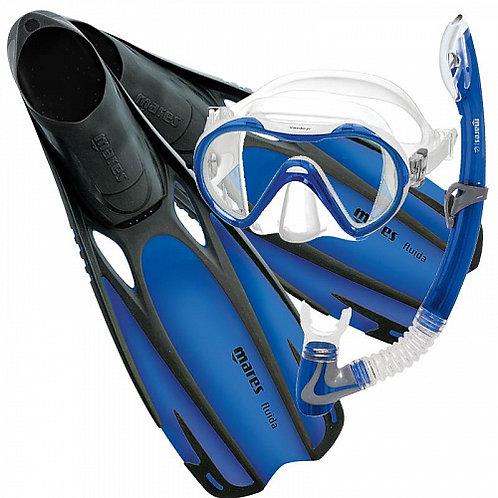 Набор Mares Fluida Vento синий