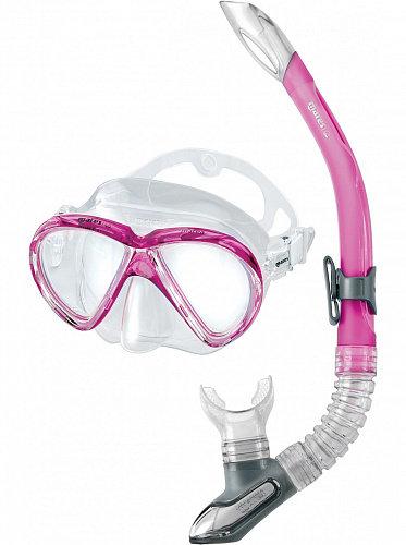 Набор Mares Marea (маска+трубка) розовый