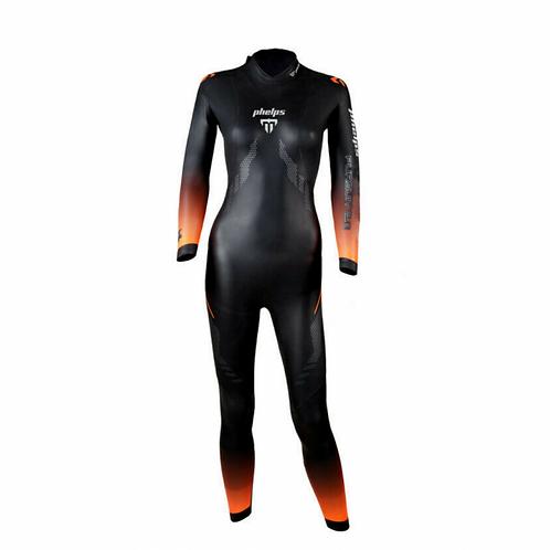 Женский гидрокостюм Michael Phelps Pursuit 2.0 Black Orange