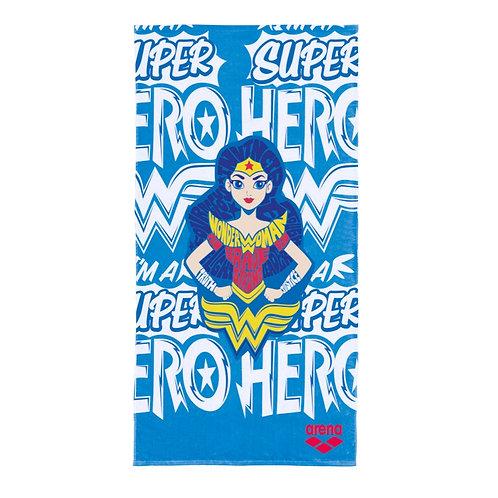 Полотенце детское Arena Super Hero Towel Jr Wonder Woman