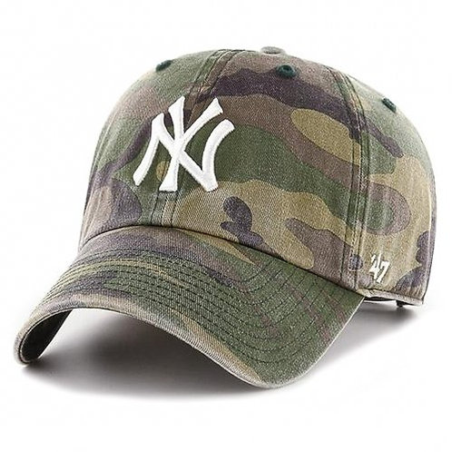 Кепка 47 Brand CLEAN UP NEW YORK YANKEES