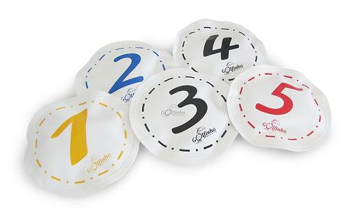 Игрушка Golfinho FLOATING CIRCLES WITH NUMBERS