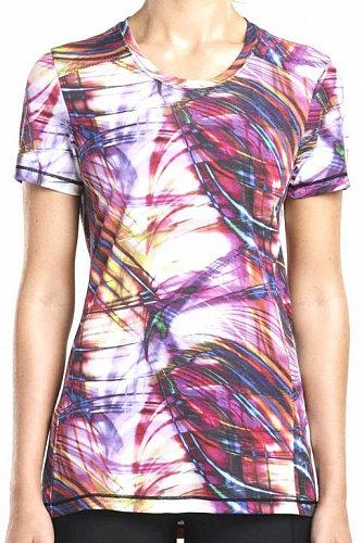 Женская беговая футболка Saucony Freedom Short Sleeve (Multi-Print)