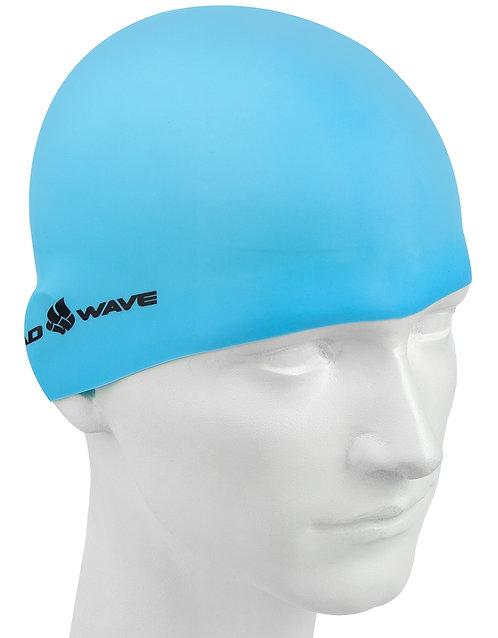 Шапочка для плавания Mad Wave Silicone cap LIGHT BIG