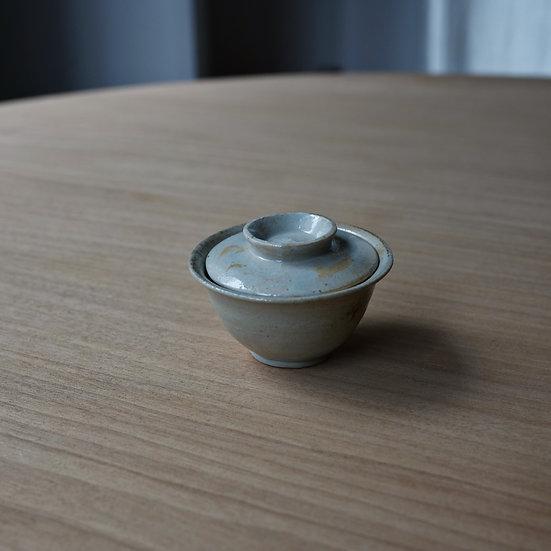 白瓷一人用蓋碗02 タナカシゲオ