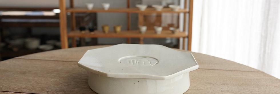 竹下努 茶盤/壺承(大) teapot plate ETT1105